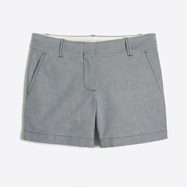 "5"" oxford short"