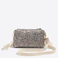 Girls' glitter pursette