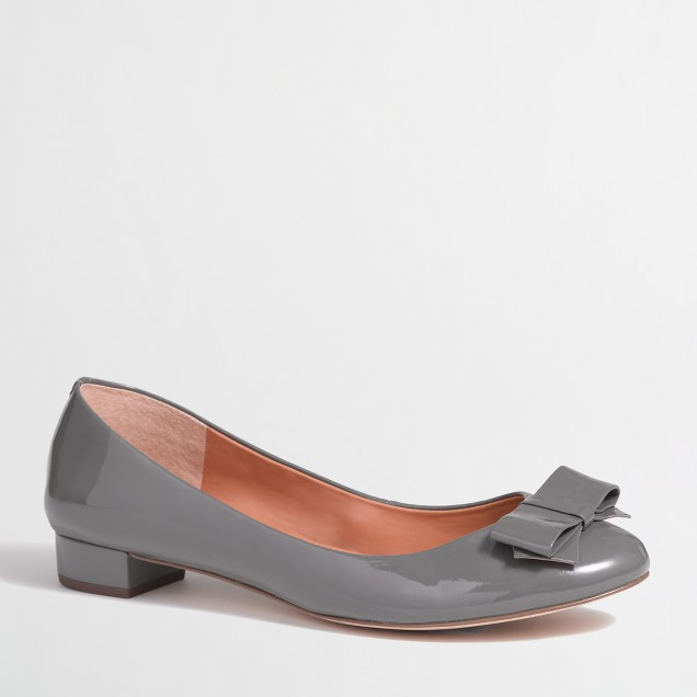 Factory Harper double-bow flats