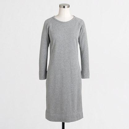 Factory sweatshirt dress