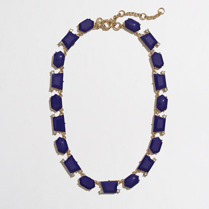 Factory dotted shapes necklace