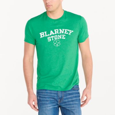 Blarney Stone graphic T-shirt factorymen new arrivals c