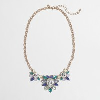 Factory crystal blossom necklace