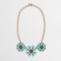Factory triple flower necklace