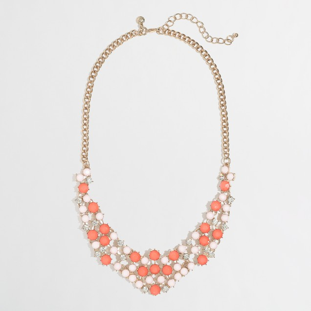 Factory bright dot necklace