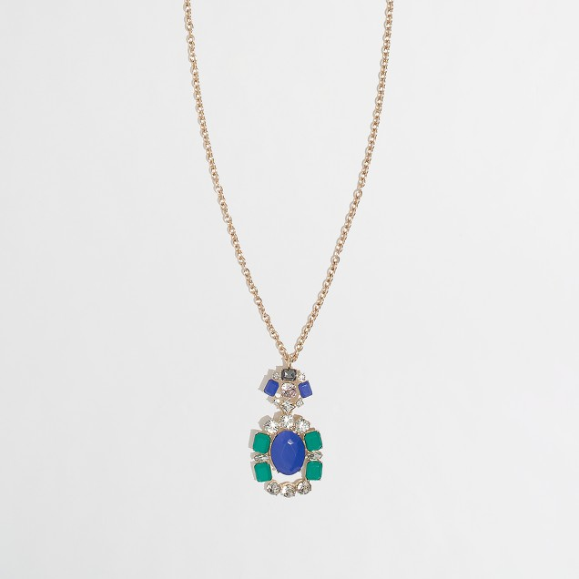 Factory jewel pendant necklace