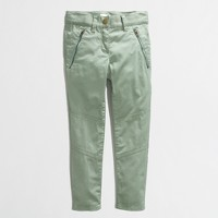 Factory girls' skinny zip chino