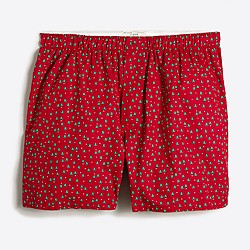 Factory Christmas tree boxers