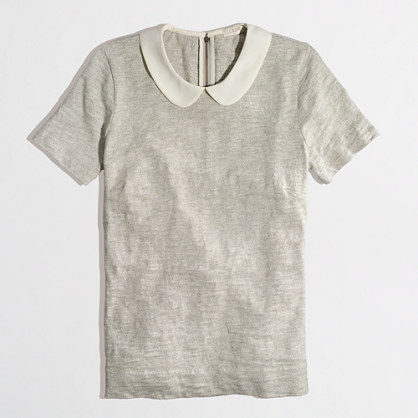 Factory Peter Pan collar tee