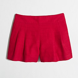 "Factory 4"" pleated short"
