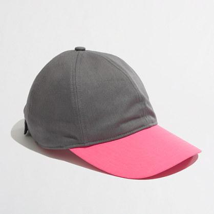 Factory colorblock baseball cap
