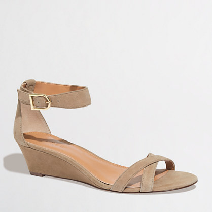 Factory demi-wedge sandals