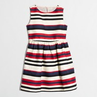 Factory girls' sleeveless stripe dress