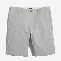 Factory linen-cotton beach short