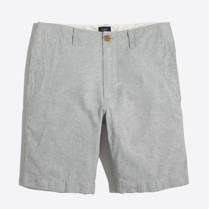 Linen-cotton beach short