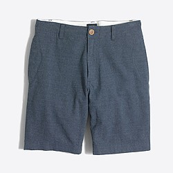 """9"""" linen-cotton beach short"""
