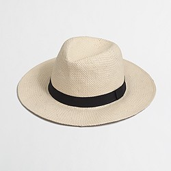 Factory panama hat