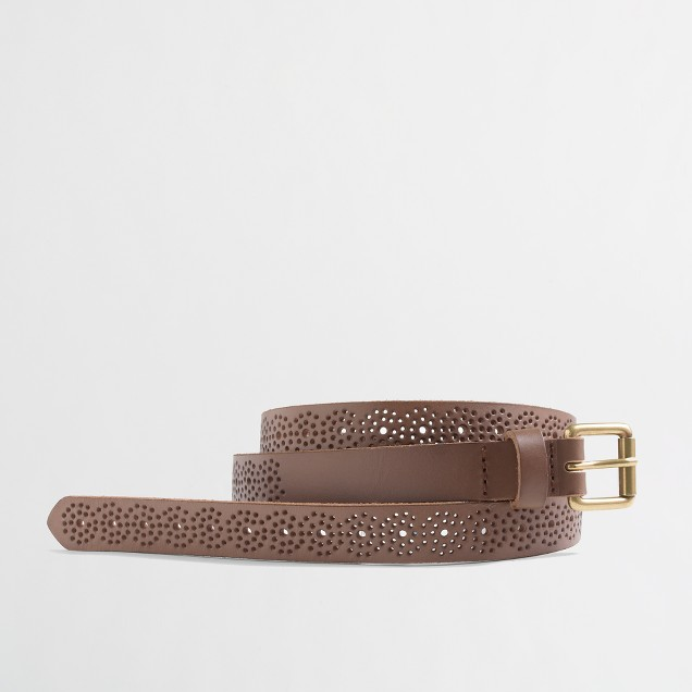 Factory dot punch belt