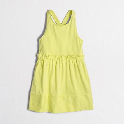 Girls' cross-back dress
