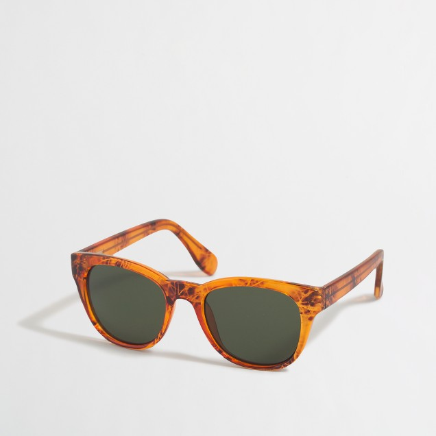 Match frame sunglasses