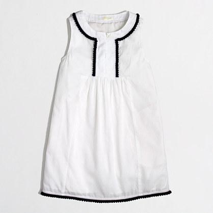 Factory girls' pom-pom dress