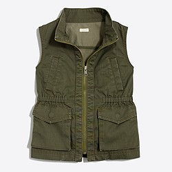 Factory girls' utility vest