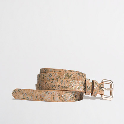 Factory gilded cork belt