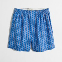 Factory stripe and anchor boxers