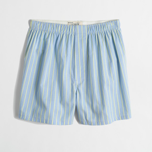Factory stripe boxers