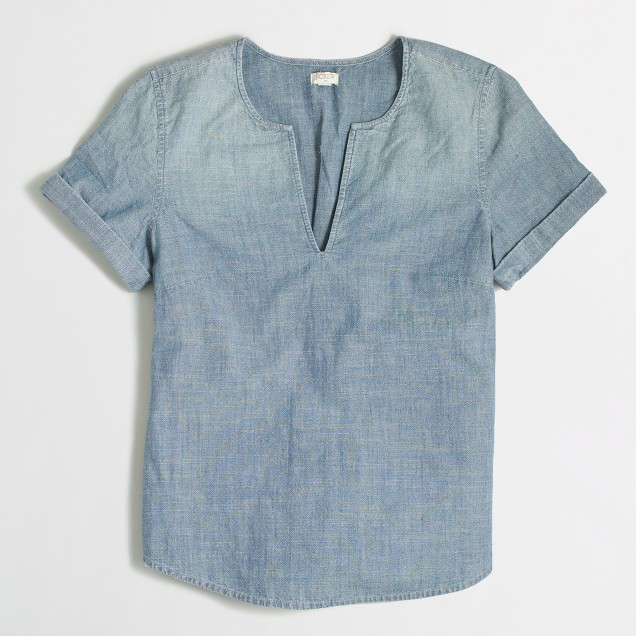 Denim t-shirt