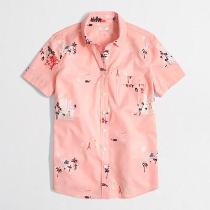 Factory tropical short-sleeve shirt