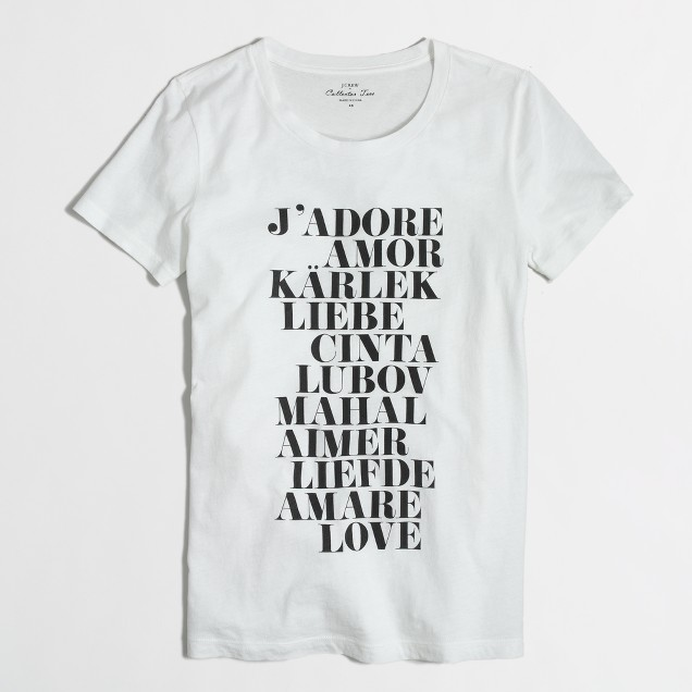 Factory love collector tee