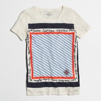 Factory travel scarf collector tee