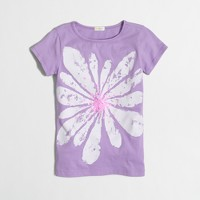 Girls' flower blossom keepsake T-shirt