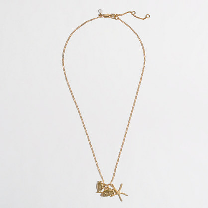 Factory girls' charm necklace