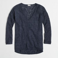 Factory airspun boyfriend sweater