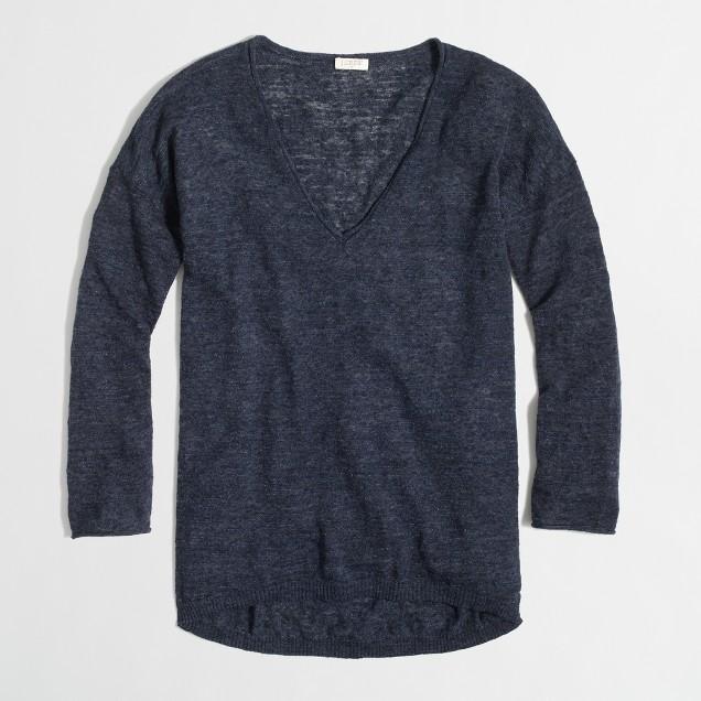 Factory airspun boyfriend sweater