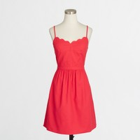 Factory scalloped cami dress