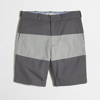 "Factory 9"" colorblock Gramercy short"