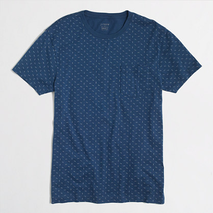 Slim arrow-print t-SHIRT