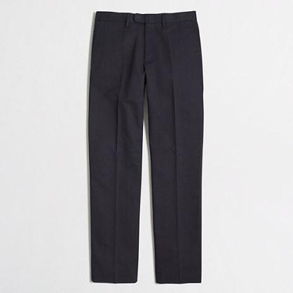 Factory slim printed Bedford pant