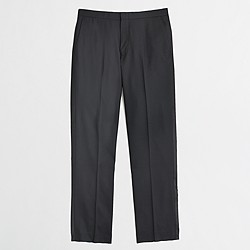 Thompson tuxedo pant in wool