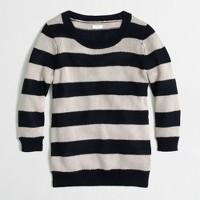 Factory beach sweater in stripe