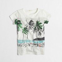 Factory girls' postcard keepsake tee