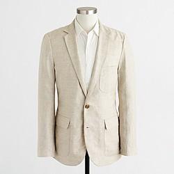 Factory Thompson blazer in linen
