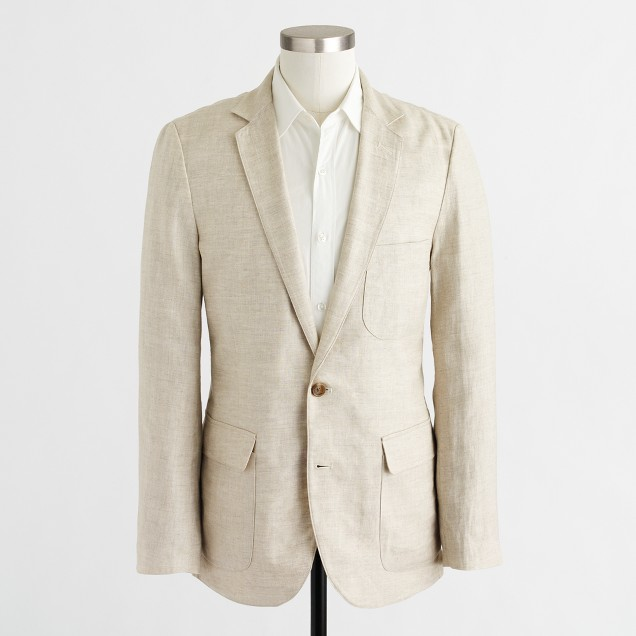 Thompson blazer in linen