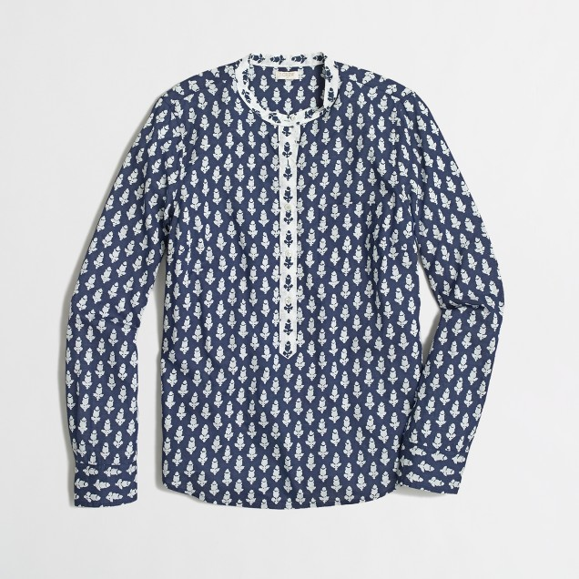 Factory printed contrast popover