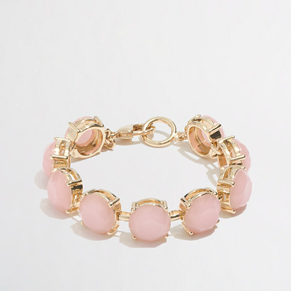 Factory crystal bubble bracelet