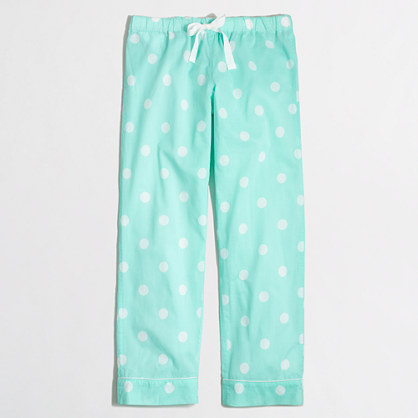 Pajama pant in dot