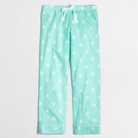 Pajama pant in dot
